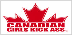 canadian girls kick ass flag joining, picture