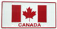 Canadian Flag License Plate (metal)