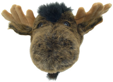Wall mounted stuffed animal heads home design ideas and inspiration - Fake stuffed moose head ...